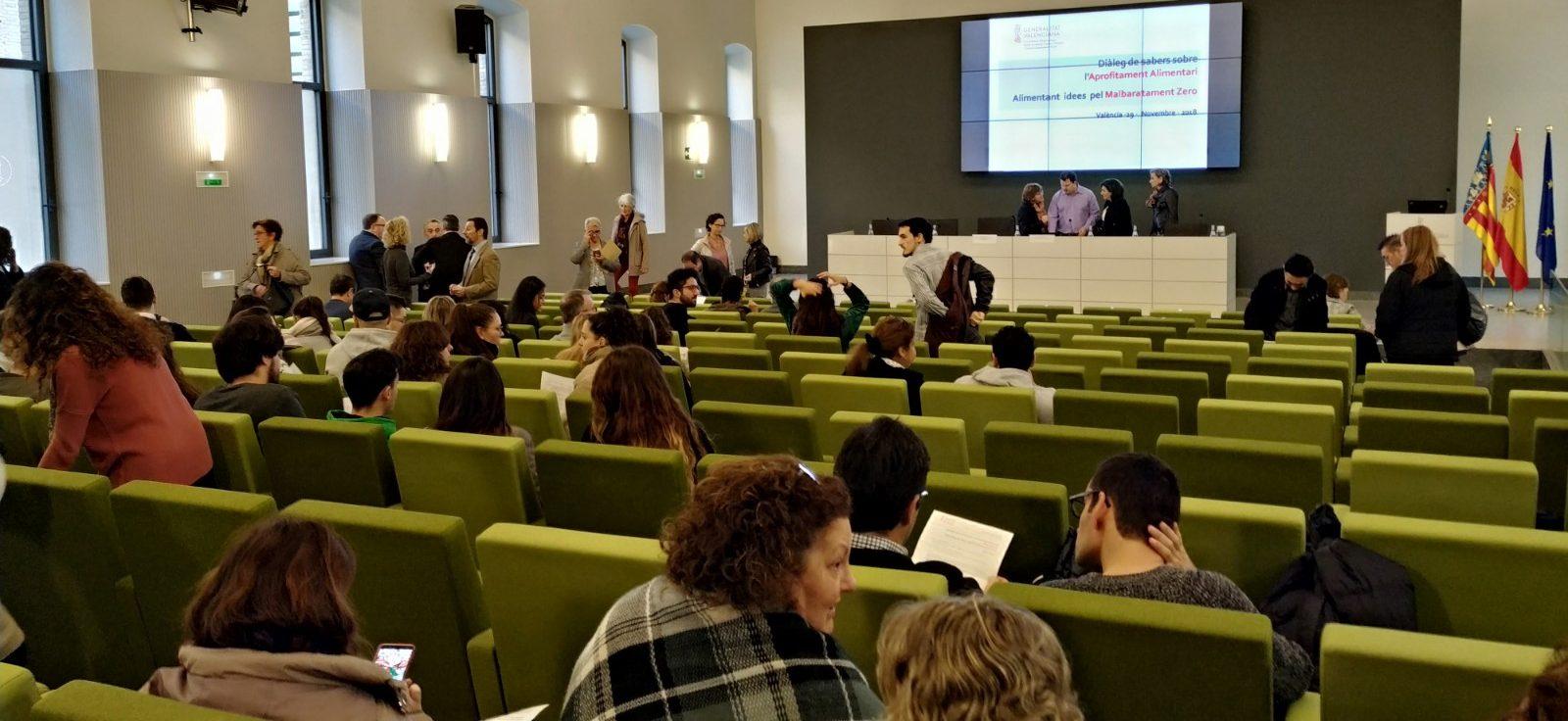Diálogo de Saberes sobre Desperdicio de Alimentos Conselleria de Agricultura