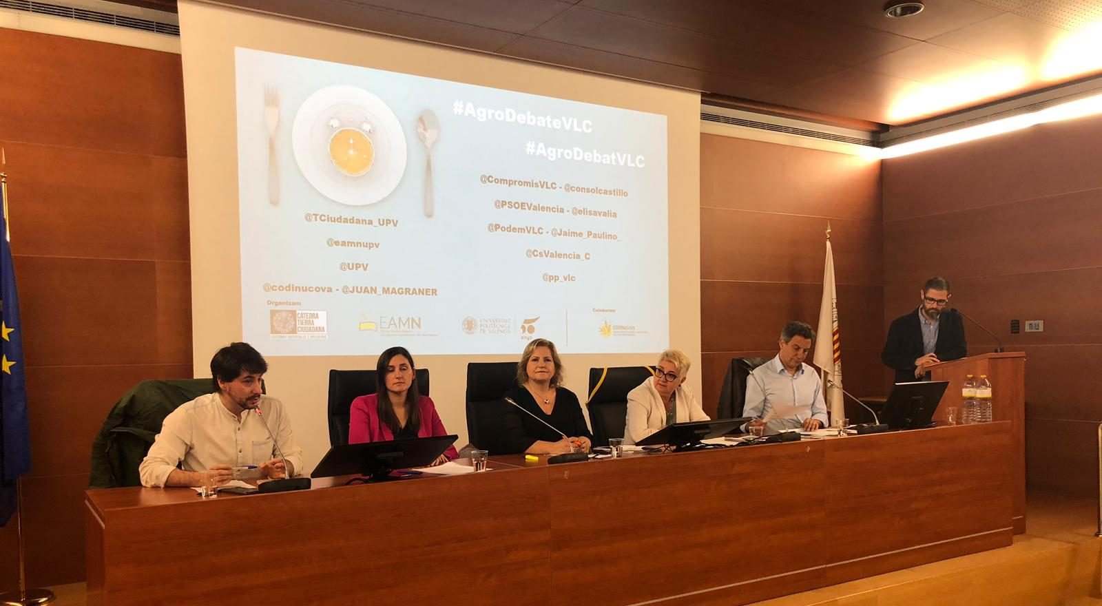 Debate sobre políticas públicas agroalimentarias en València 2019